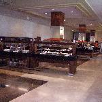 Vue des buffets