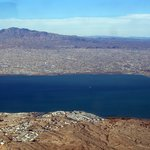 Lake Havasu from above
