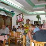 Chouchou in hotels restaurant