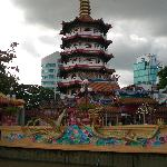 The Chinese Pagoda near the river front