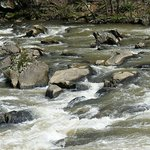 Tuckaseegee River Rapids