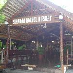 Entrance at main area