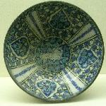 Persian plate 14 th cent.