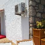 Room and balcony