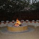 dinner under the stars in the boma