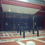 British Library entrance