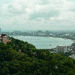 Pattaya City views from the Temple