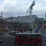 View from Room: Tube Station Construction Site (March 2008)