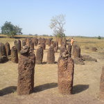 Wassu Stone Circles -well worth a visit, if only to pick Moses' brains (the eccentric curator)