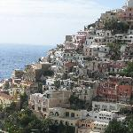 Positano from the bus