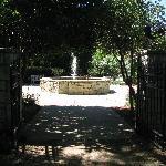 Boswell Family Garden entrance