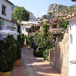 Entrance into Molino del Santo