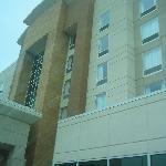 Front entrance side of building