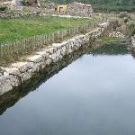 the stream´s dam