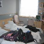 Not so tidy bedroom