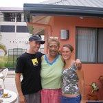 shaun, mama, and me on my b day