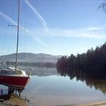 le lac de Gérardmer ( 88 vosges )