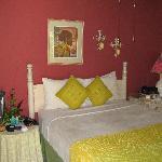 Cottage's master bedroom