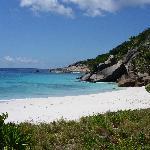 Magnifique plage à Grande Soeur