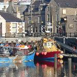 Kirkwall harbour - The Shore in the background