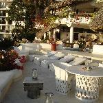 Our sundeck on Villa 3