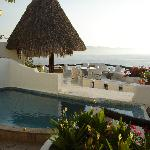 Villa 3 pool and sundeck