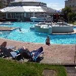 The Merton outdoor pool