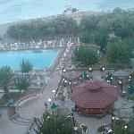 view fromour room