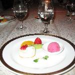 Dessert at French Hotel
