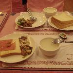 Hotel Taiwan porridge and western breakfast (7.30am - 10am)