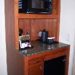 Microwave - Coffee - Refrigerator