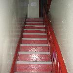 stairway to rooms