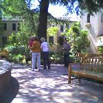 Courtyard of the Sonoma Mission Inn