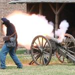 cannon firing, soo cool