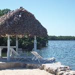The Tiki Fishing Hut