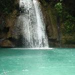 Kawasan Falls are close by