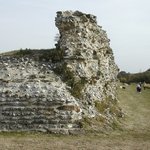 Silchester - remains of ruined walls