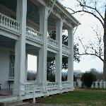 Back porch of the Plantation