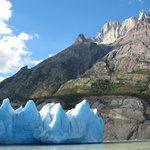 Glacier Gray and Lago Gray