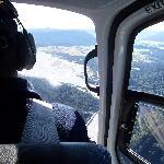 Over the pilots shoulder