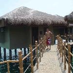 a view of beach villa, vey nice