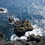 Fesen am Kastell im Meer