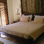 Our bedroom in the villa