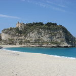 Tropea from the beach