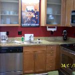 Our kitchen area