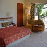 Corner suite in Garden Wing