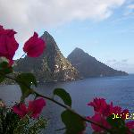 one of many view of the Pitons
