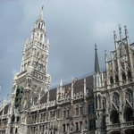 Standing Outside of The Glockenspiel
