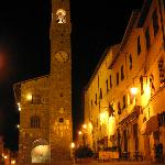 Montalcino at night