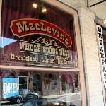 MacLevin's store front